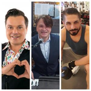 Așa arată azi Dj Problemă (MB&C), Mihai Onilă (Axxa) și Marius Nedelcu (Gaz pe Foc)