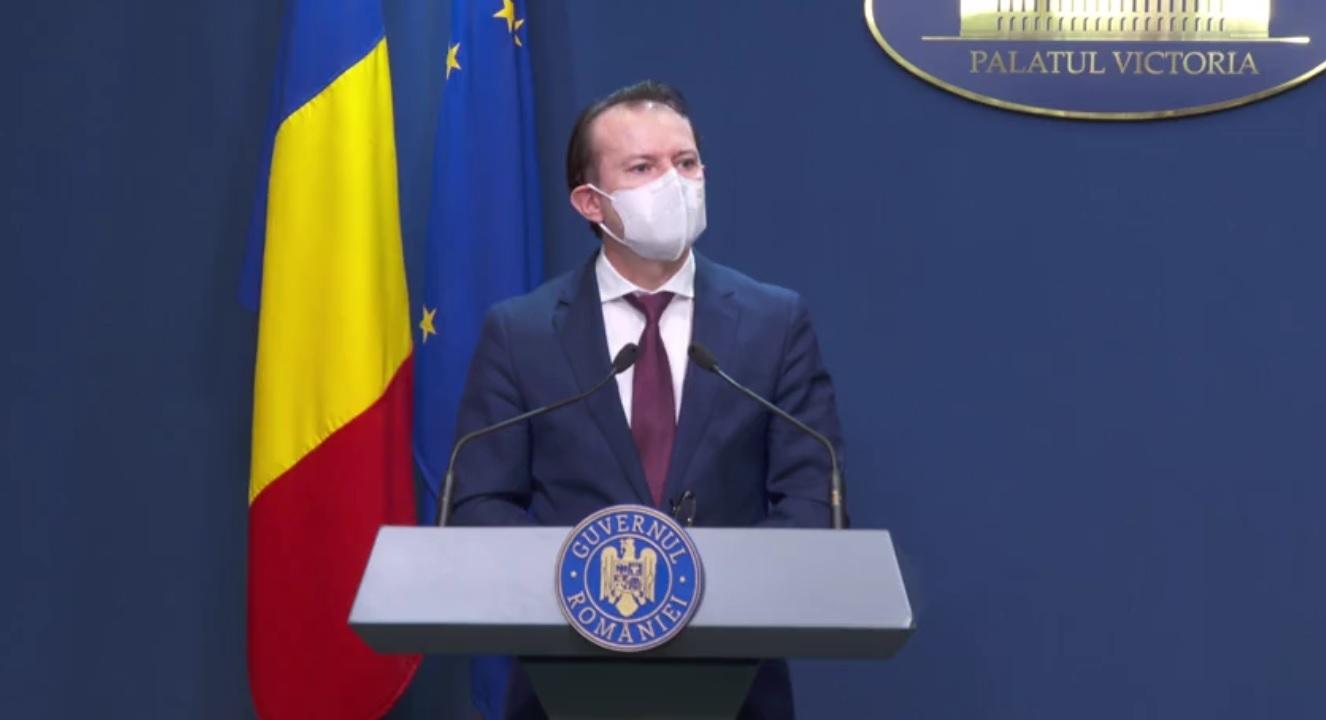 Cîţu: Am luat câteva decizii în şedinţa de Guvern care vor ajuta la reducerea efectelor pandemiei – VIDEO