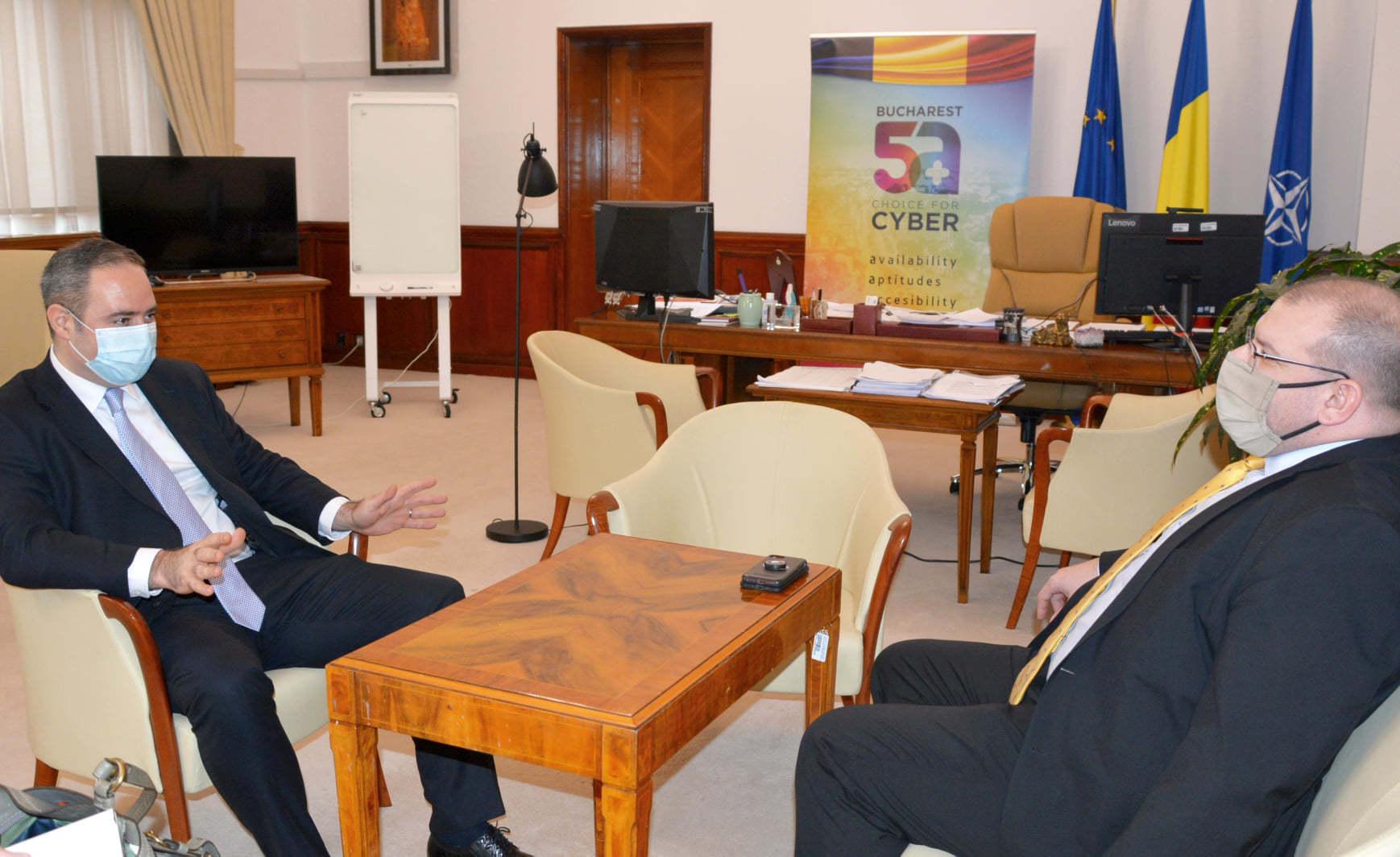 Alexandru Nazare, după o întâlnire cu reprezentanţi ai SUA la Bucureşti: Am reiterat interesul în găzduirea actorilor importanţi din piaţa farmaceutică pentru a putea dezvolta şi susţine producţia de vaccinuri în ţara noastră