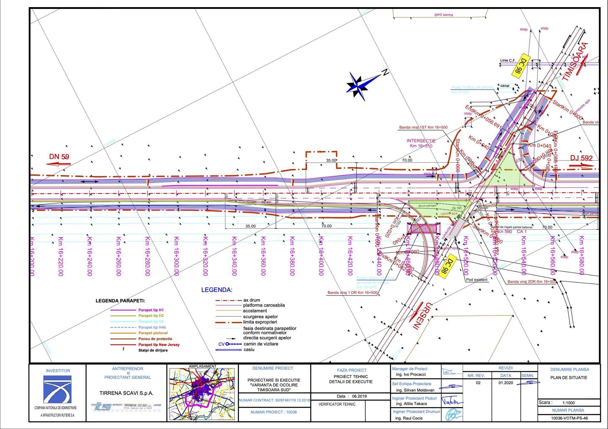 Asociaţia Pro Infrastructură reclamă că centura Timişoara Sud va tăia un drum de acces către Urseni: Deplasarea Urseni-Timişoara dus-întors va fi cu 3,6 km mai lungă şi se va face pe rute diferite la dus şi la întors