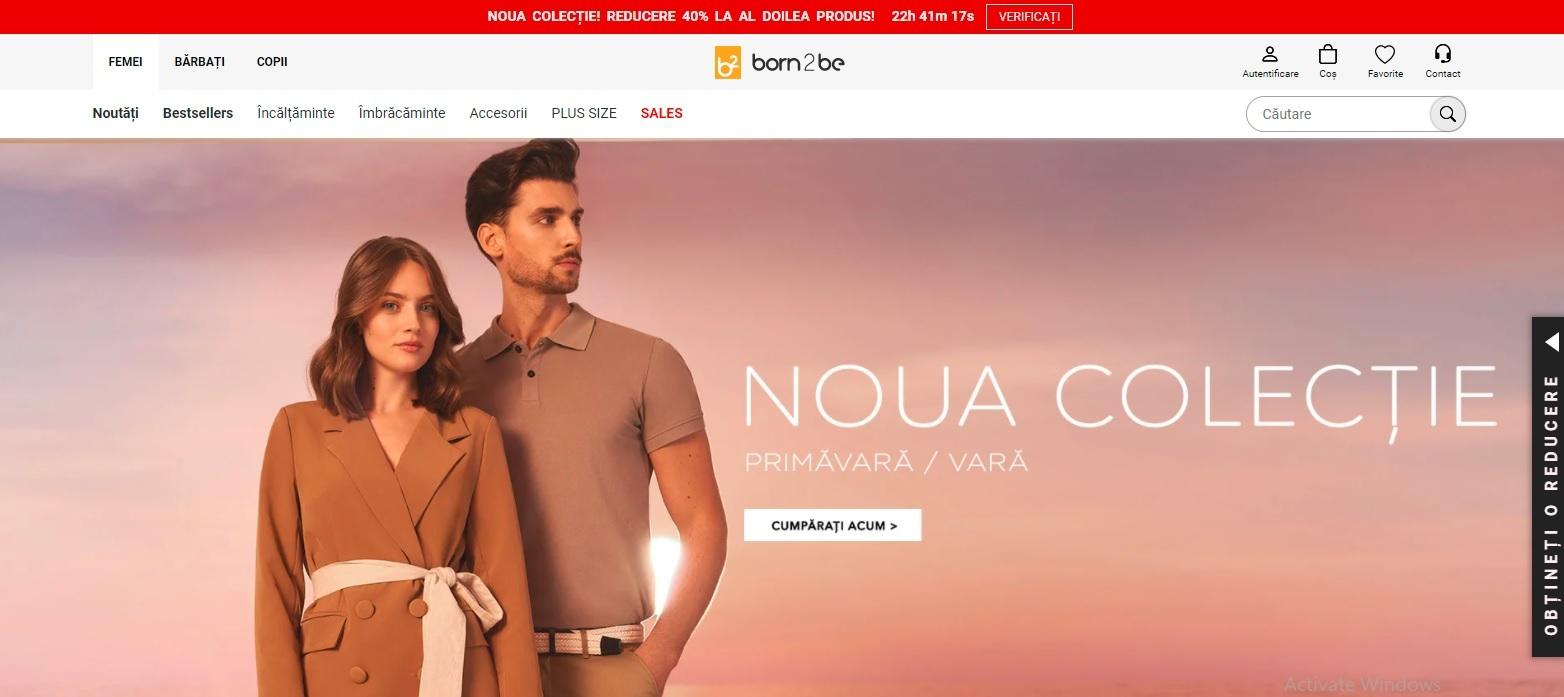 Born2be, unul dintre cele mai mari magazine online de moda din Polonia, s-a lansat în România