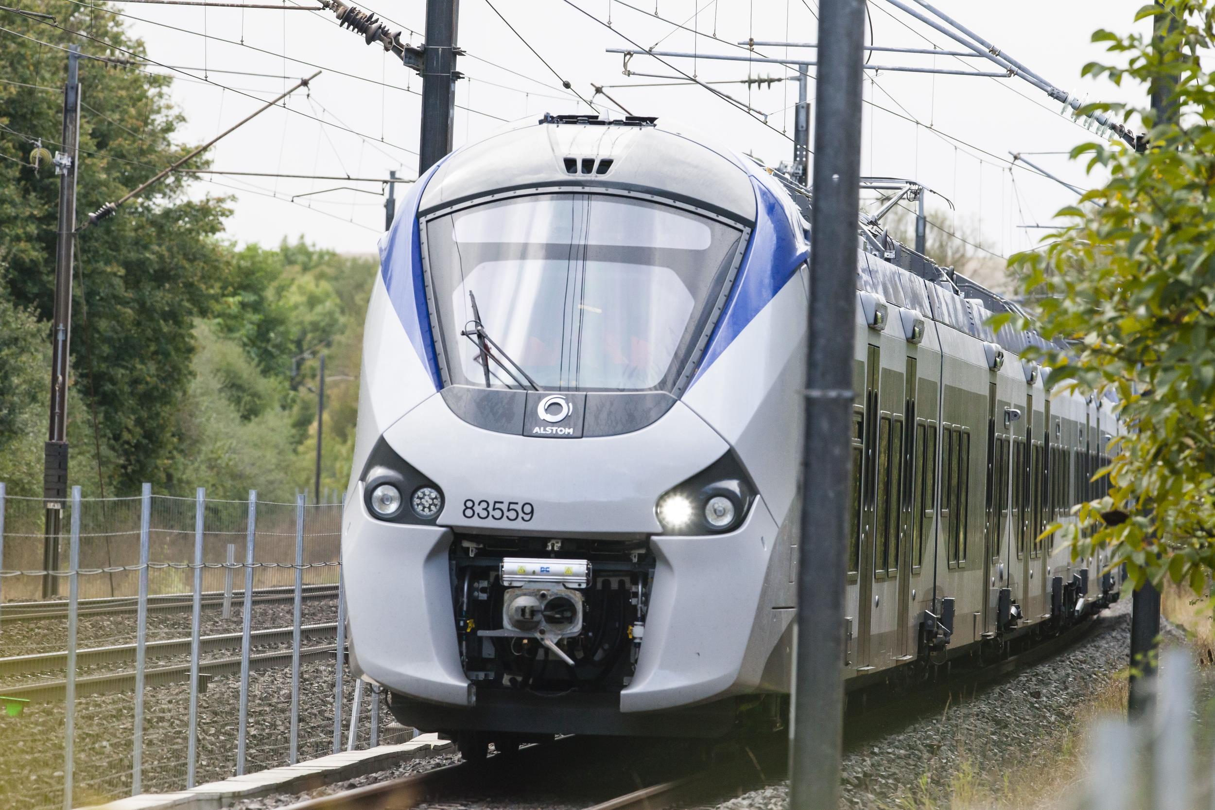 Franţa comandă primele trenuri cu hidrogen de la Alstom, contract de aproape 190 milioane euro pentru primele 12 trenuri electrice