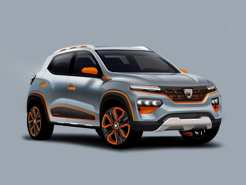 Dacia anunţă lansarea pre-comenzilor pentru Spring, maşina poate fi cumpărată cu sub 10.000 de euro, dacă ai subvenţie de la stat
