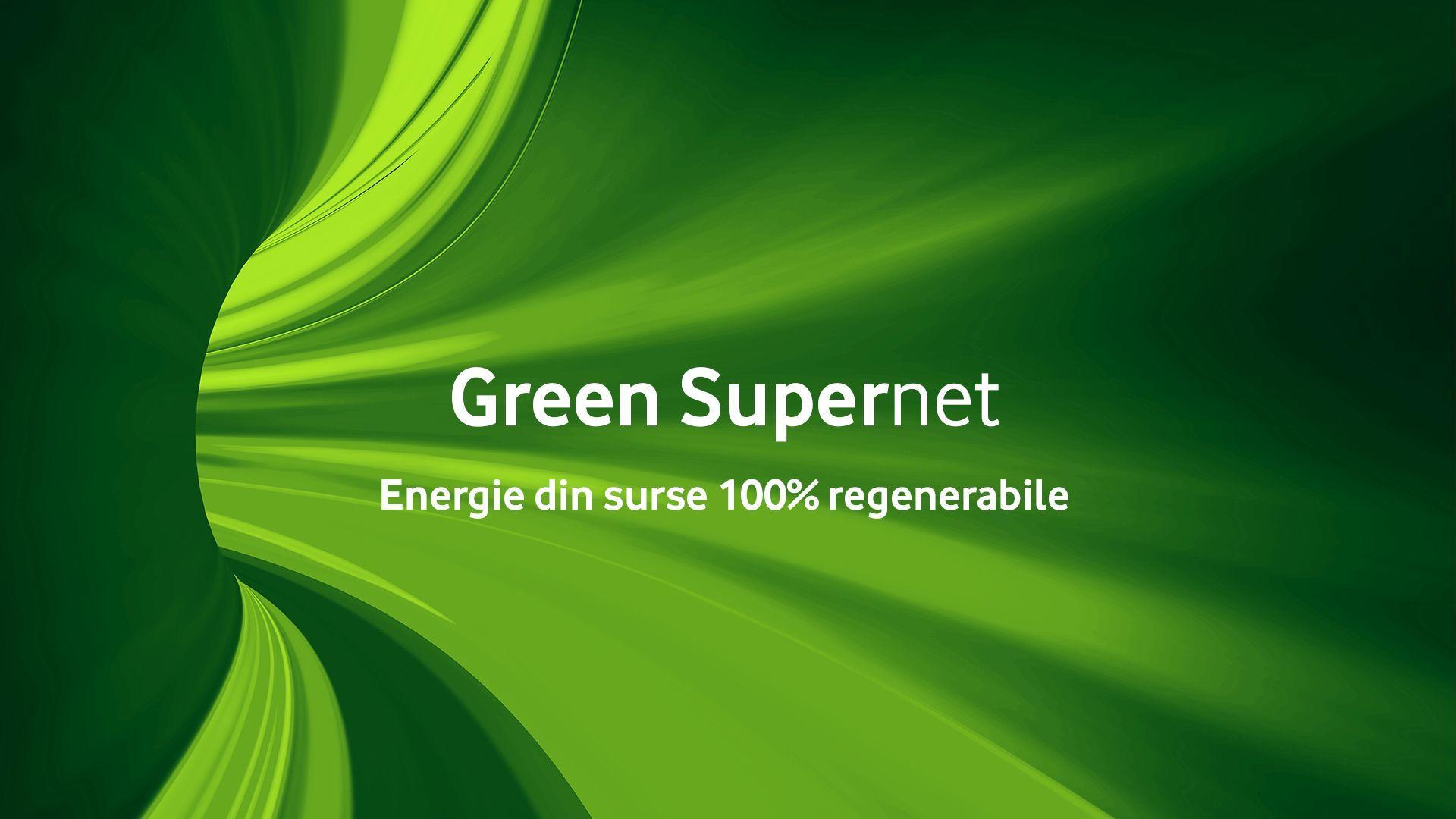 Vodafone România anunţă că reţeaua sa este 100% verde, fiind alimentată integral cu energie din surse regenerabile